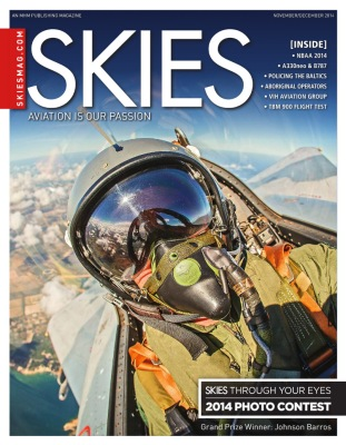 Revista canadense Skies.