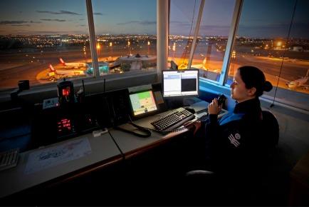 Controle de tráfego aéreo