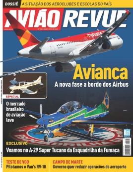 Avião Revue 166 - A-29 da Esquadrilha da Fumaça