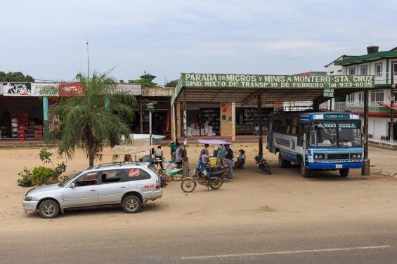 Ponto de ônibus intermunicial