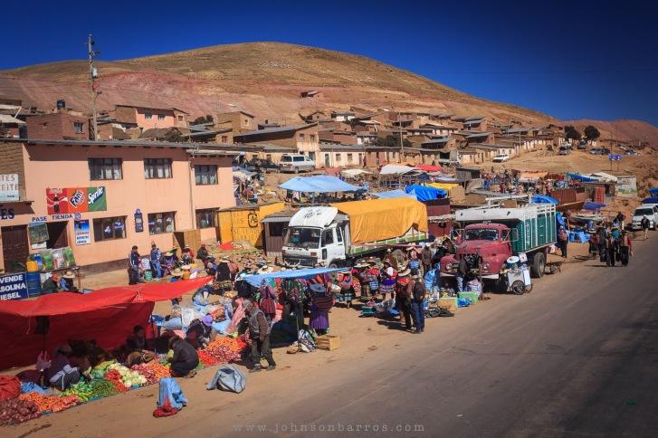 Comércio a beira da estrada para Oruro