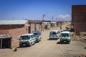 Chegando em Oruro