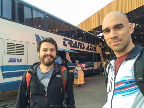 Ônibus de Cochabamba para Oruro