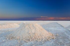 Extração de sal