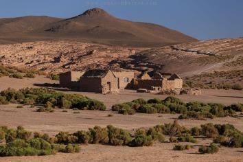 Casas a beira de Las Roccas