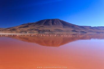 A Laguna Colorada.