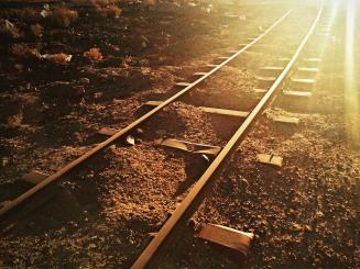 Cemitério de trens.