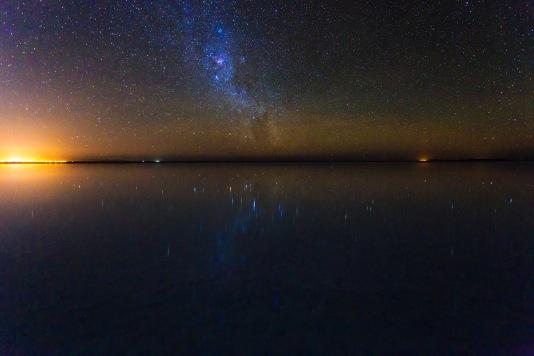 Um pedacinho da Via Láctea.